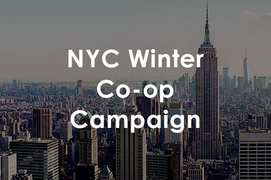 New York Hotel Co-Op Marketing Campaign