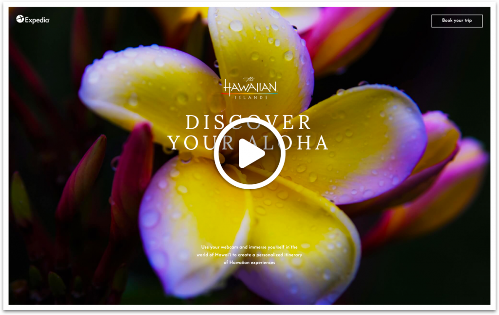 Still image from Hawaii Tourism Authority campaign video.