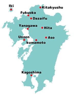 Kyushu Co-Op Campaign Map