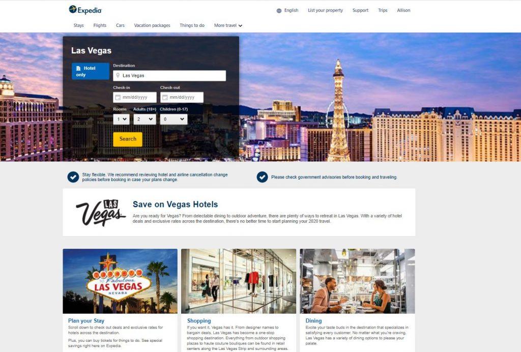 Las Vegas marketing campaign