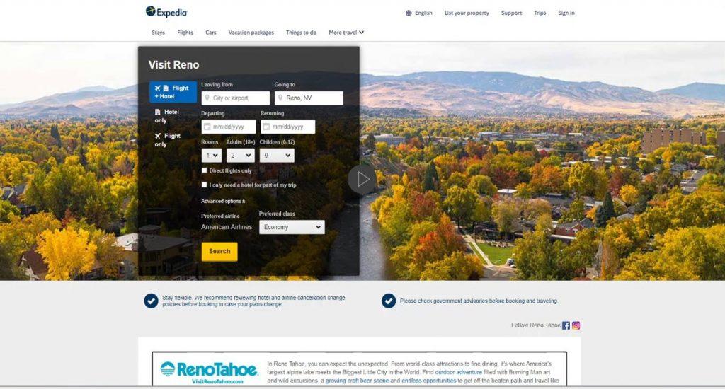 Reno Tahoe AA Co-Op Campaign