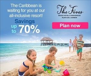 Example of Display ad for Hotel Recovery Marketing: the Fives Resort