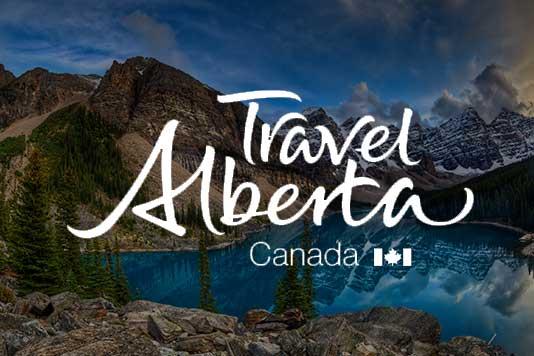 Travel Alberta example marketing campaign