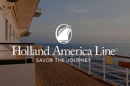 Holland America marketing campaign