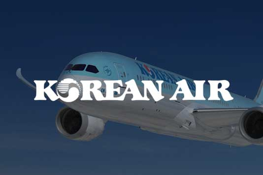 Korean Airlines marketing example