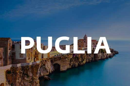 Puglia region marketing campaign example
