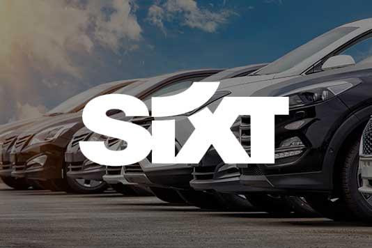 sixt car rental marketing example