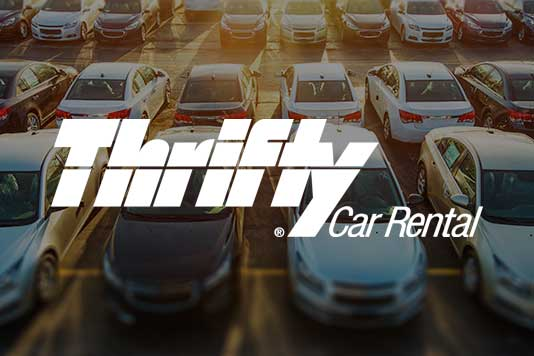 thrifty car rental marketing campaign example